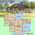 Plan Modern Home Wrap Around Porch