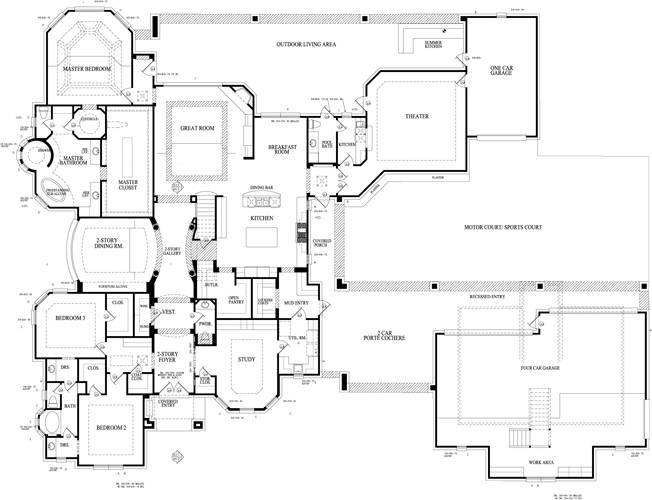 Plan Sapphire Custom Homes
