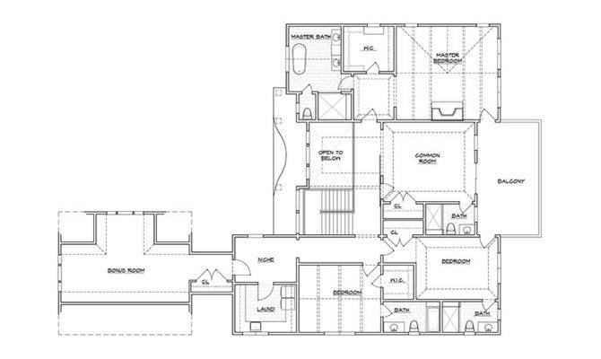 Plan Second Floor Design