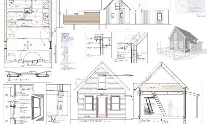 Plan Sheet Brattleboro Tiny House