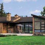 Plan Single Story Contemporary House