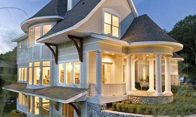 Plan Sloping Lot Craftsman Northwest House Plans