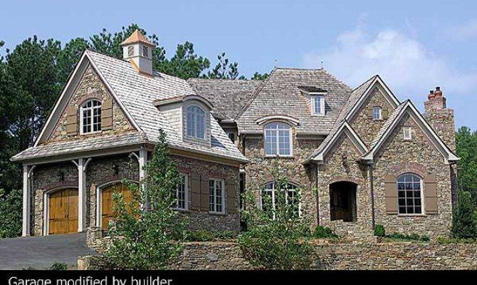 Plan Stone Brick French Country