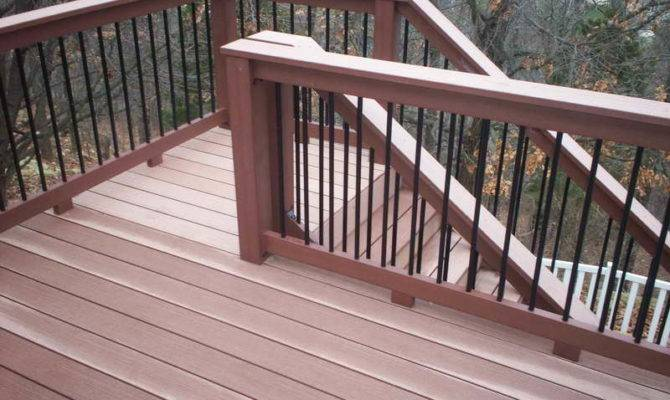 Planning Ideas Elevated Deck Plans Stair Railing