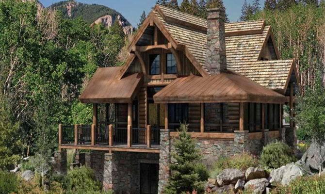 Planning Ideas Log Cabin Floor Plans Design