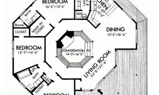 Plano Casa Hexagonal