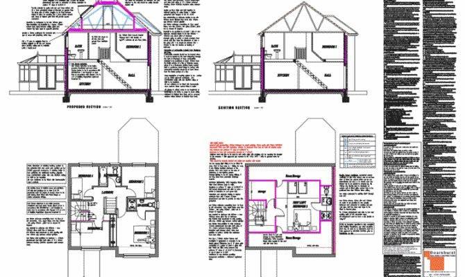 Plans Architectural Floor Building Loft Conversions Dormers