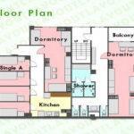 Plans Balcony Guest House Floor