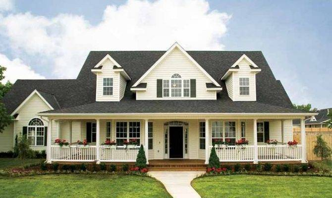 Plans Country Houses Home Deco