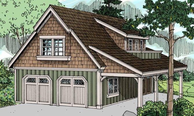 Plans Craftsman Style Carriage House Plan Car Garage Design