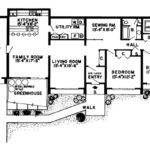 Plans Earth Berm House Home Floor