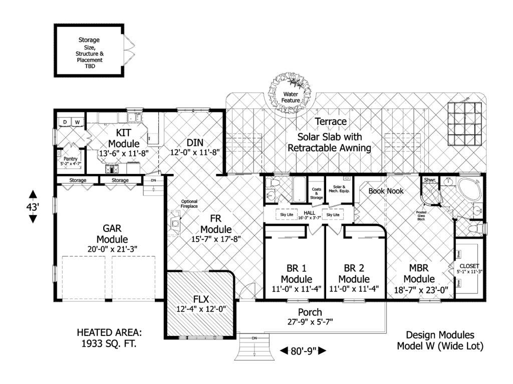 Plans Floor Green Home Designs
