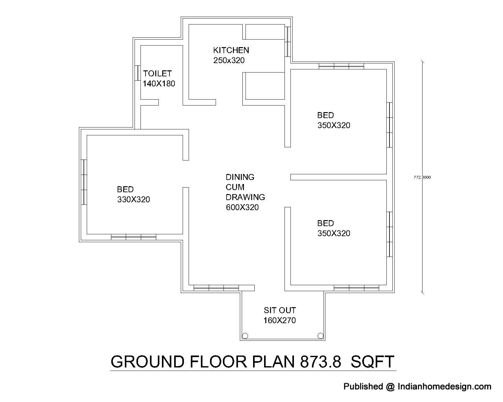 Plans Floor House Simple