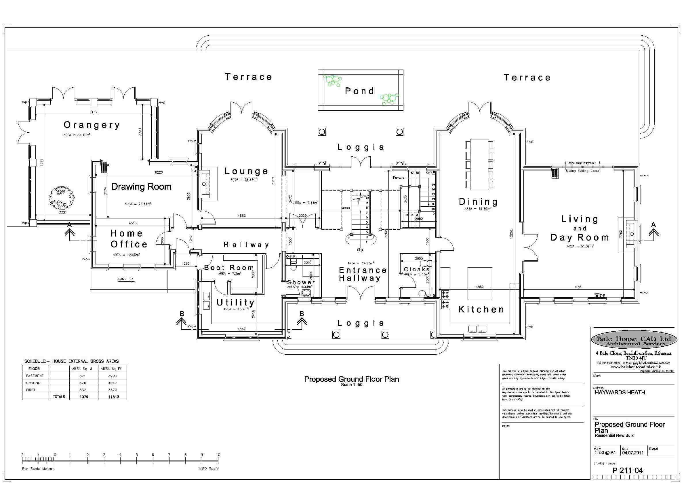 Plans Floor Luxury House Home Plan Large