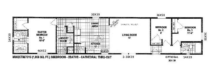 Plans Furniture Floor Single Wide Manufactured Homes