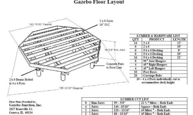 Plans Gazebo