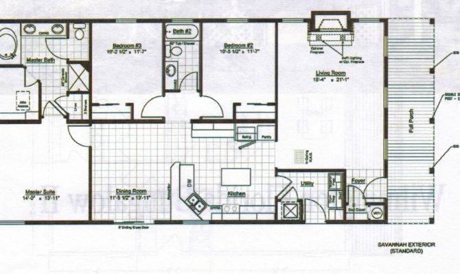 Plans Home Design Bungalows Floor