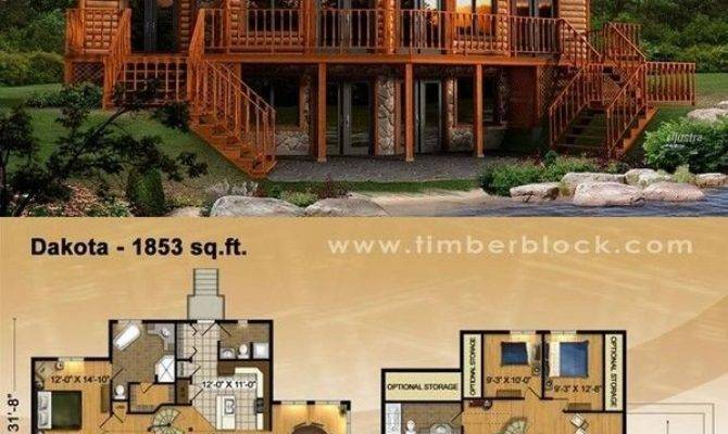 Plans Log Cabin Awesome Best Ideas