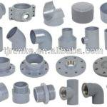 Plastic Pvc Reducing Socket Tee Elbow Flange