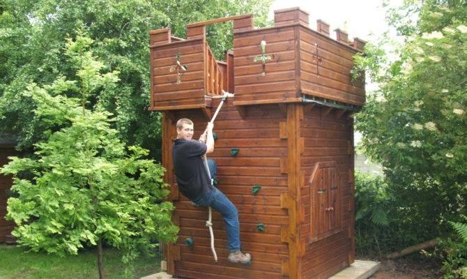 Playcastle Climbing Wall Castles Playhouse Company