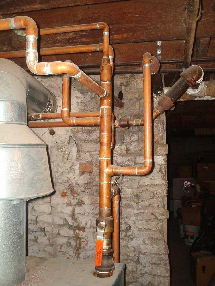 Plumbing Pipe Types Metal Black Iron Plastic