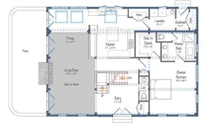 Pole Barn House Plans Blueprints Style Floor