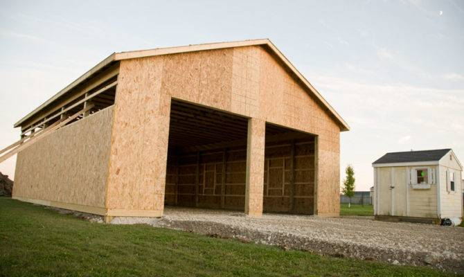 Pole Building Shop Plans Build Barn