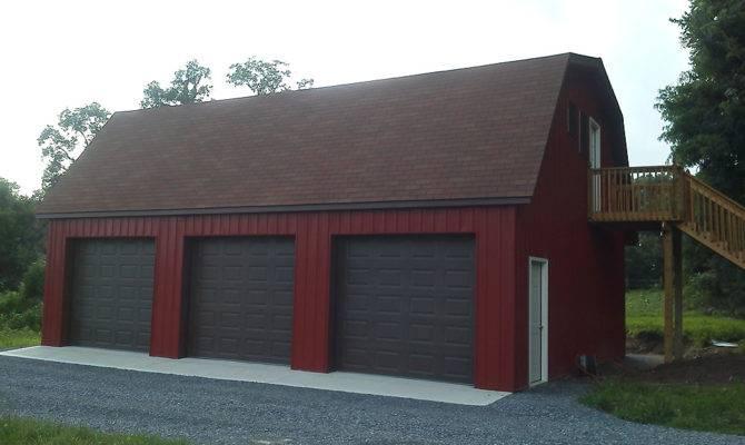 Pole Buildings Gambrel Roof Joy Studio Design Best