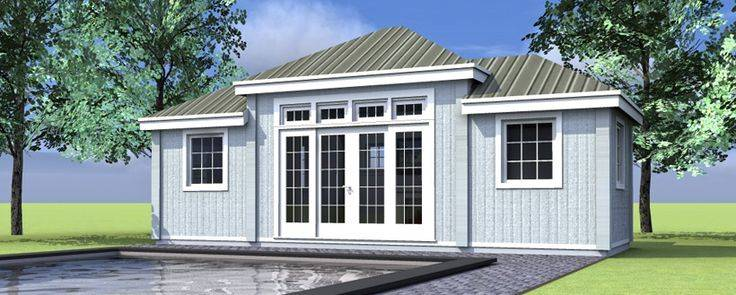 Pool House Plan Home Pinterest