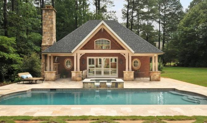 Pool House Traditional Atlanta Innovative