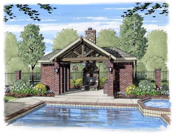 Pool Pavilion Designs Backyard