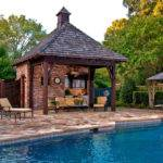 Pool Side Cabana Designs Ideas