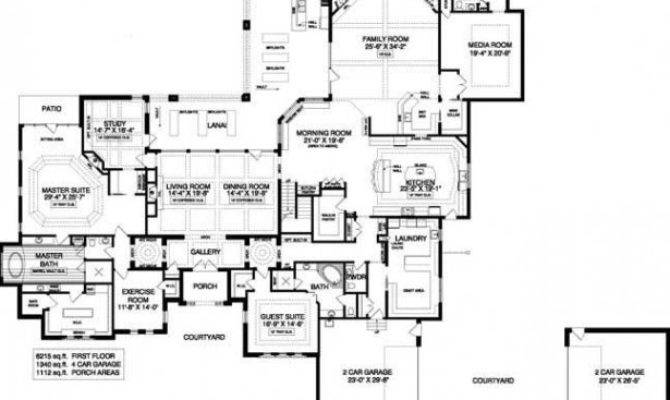 Popular Luxury Mansion Floor Plans Home Plan
