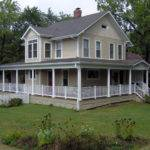 Porch Designs Small Houses Square House Plans