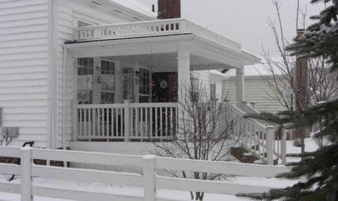 Porch Front Wrap Around Porticos