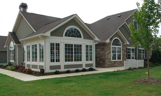 Porch Into Sunroom Florida Home Plans Ranch Houses