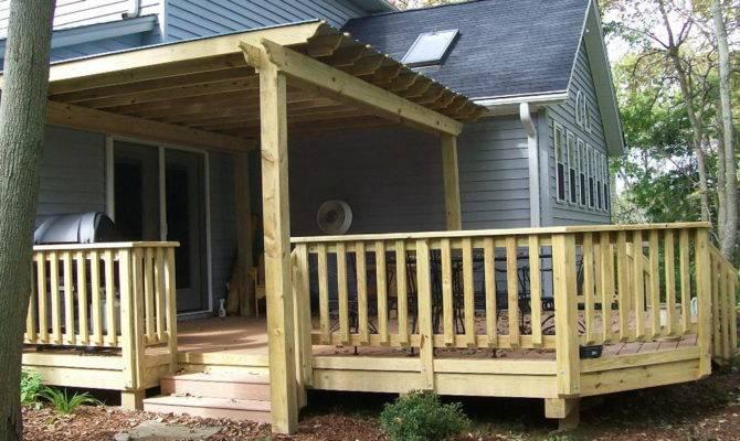 Porch Railing Designs Wooden Houzz Teamns Info