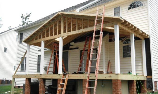 Porch Roof Construction Details
