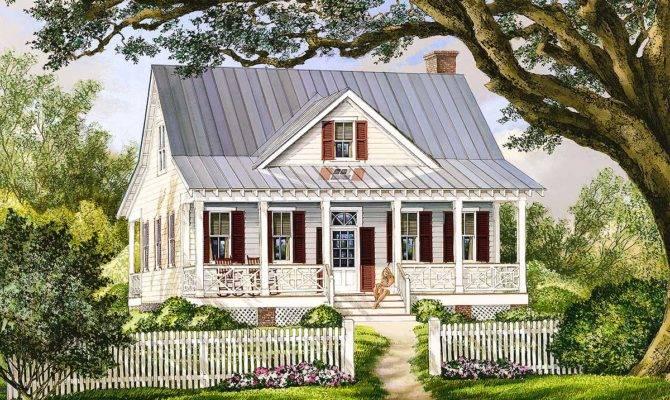 Porches Front Back Architectural Designs