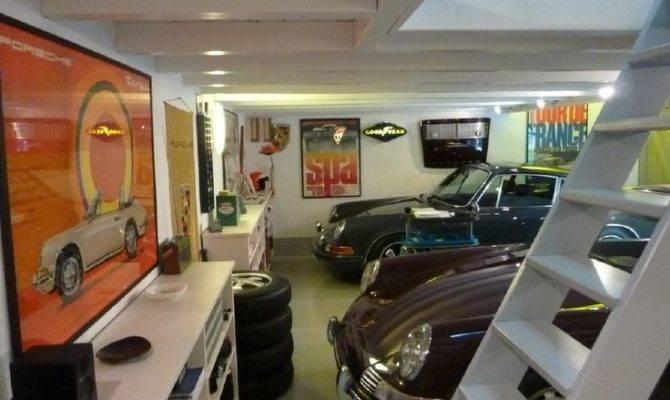 Porsche Man Garage Cave Baby Drive Car Pinterest