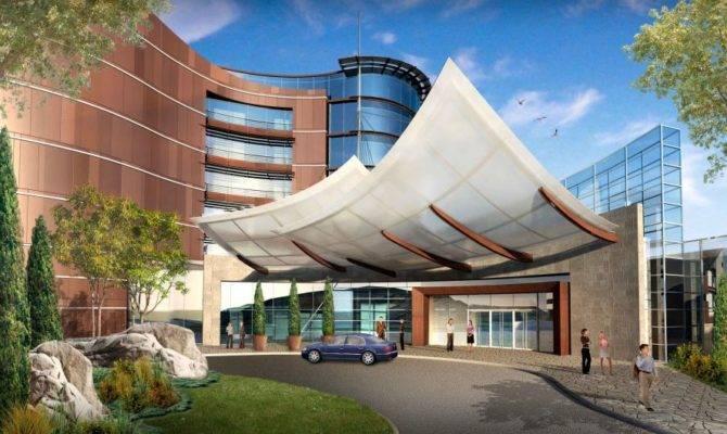 Port Cochere Perspective Architecture Astra Montenegro Resort