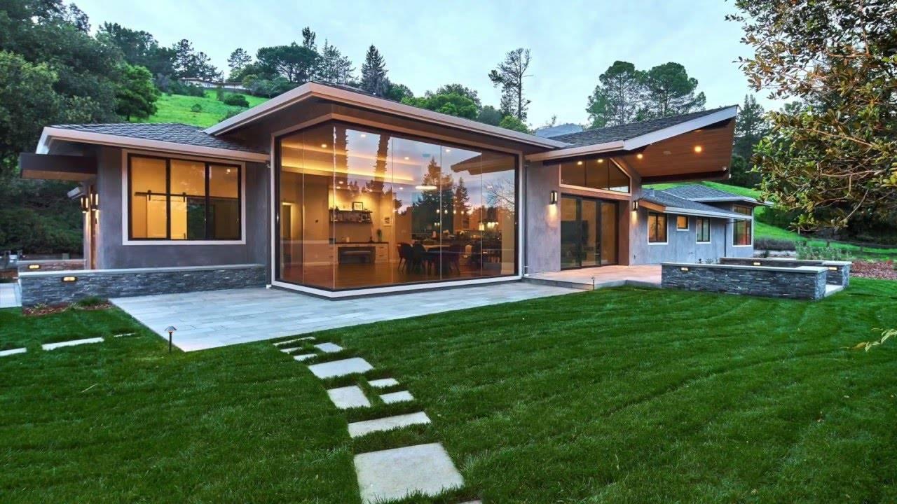 modern ranch home - 1280×720