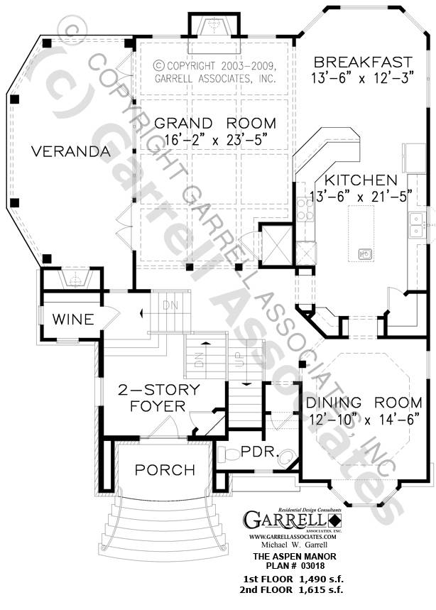 Practical Magic House Floor Plans