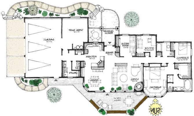 Prairie Energy Efficient Home Plan True Green House