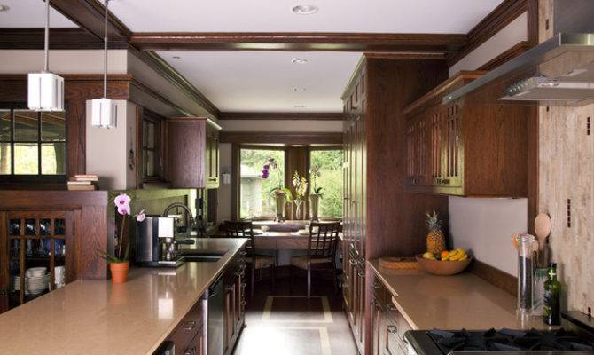 Prairie Style Addition Kitchen Traditional