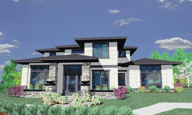 Prairie Style House Plan Architectural Designs