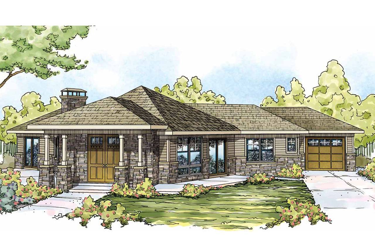 Prairie Style House Plans Baltimore Associated Designs