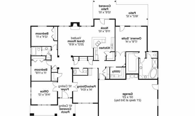 Prairie Style House Plans Creekstone Associated Designs