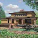 Prairie Style House Plans Regular Design