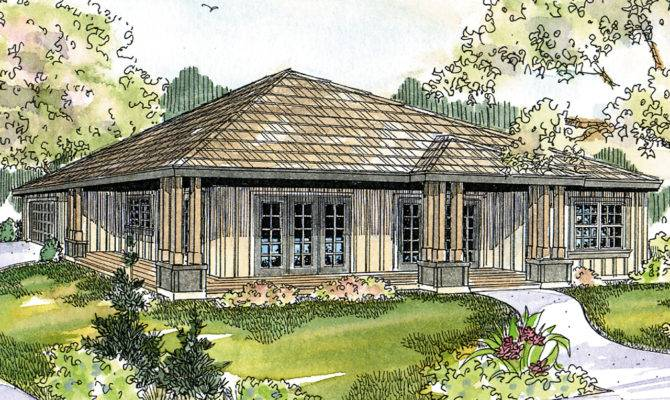 Prairie Style House Plans Sahalie Associated Designs